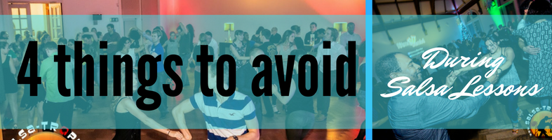 Four Things to Avoid During London Salsa Classes