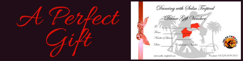 Salsa Dance Gift Certificate for Your Salsa Classes London